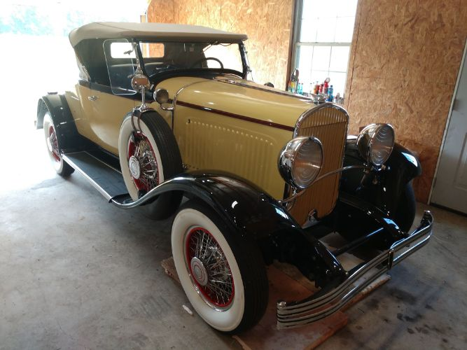1929 Chrysler Model 75 Roadster