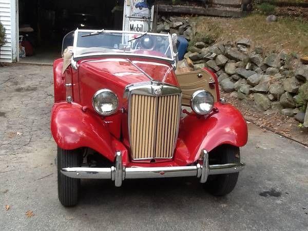 1950 MG TD Convertible