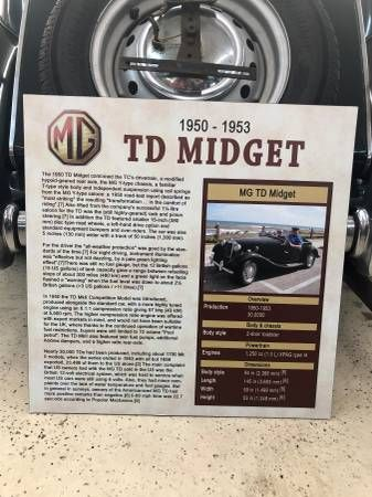 1953 MG Midget 2