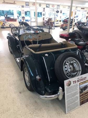 1953 MG Midget 8