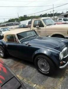 1965 Austin Healey MK 3000 Convertible