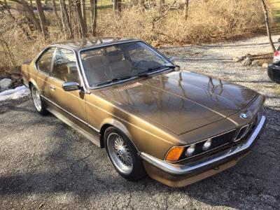 1981 BMW 635CSI Euro
