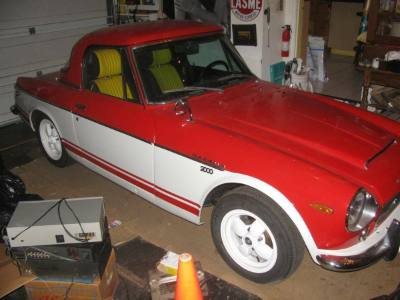 1969 Datsun 2000 Fairlady Roadster