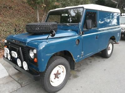 1981 Land Rover Defender StageI