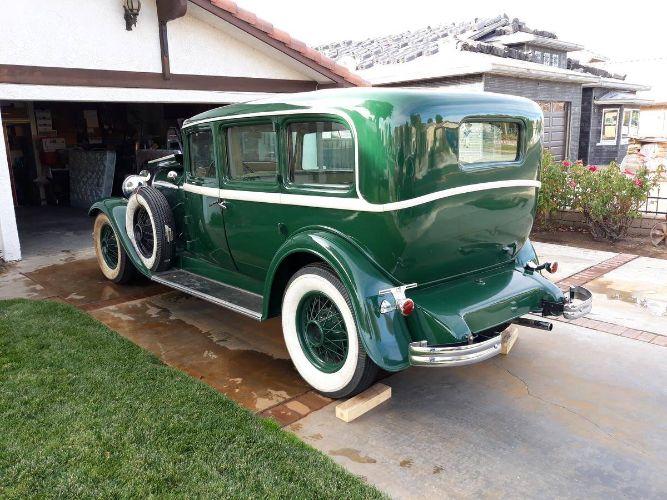 1931 Lincoln K 7 Passenger