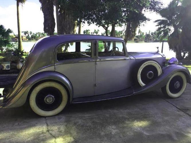 1937 Rolls Royce 25/30 Park Ward 4