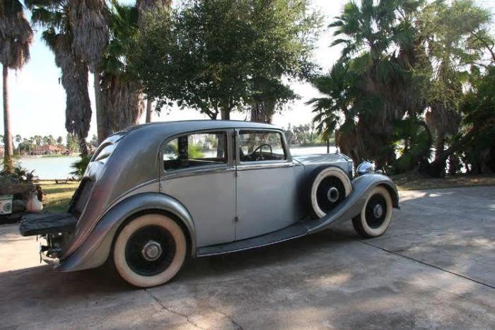 1937 Rolls Royce 25/30 Park Ward 7