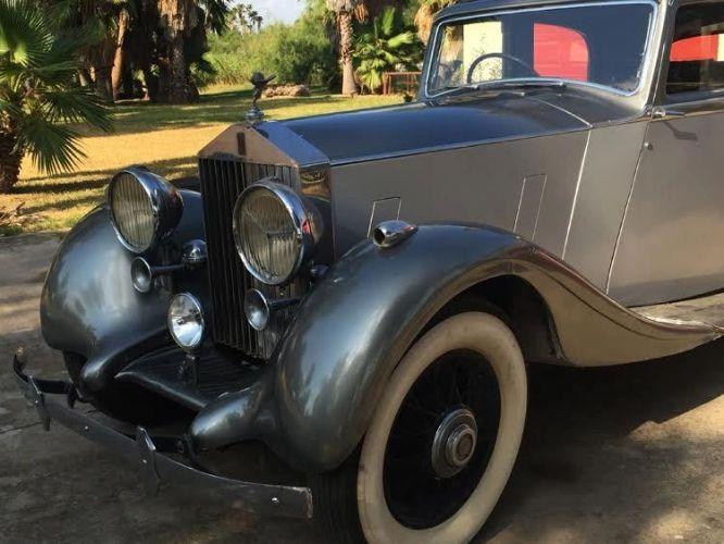 1937 Rolls Royce 25/30 Park Ward 8