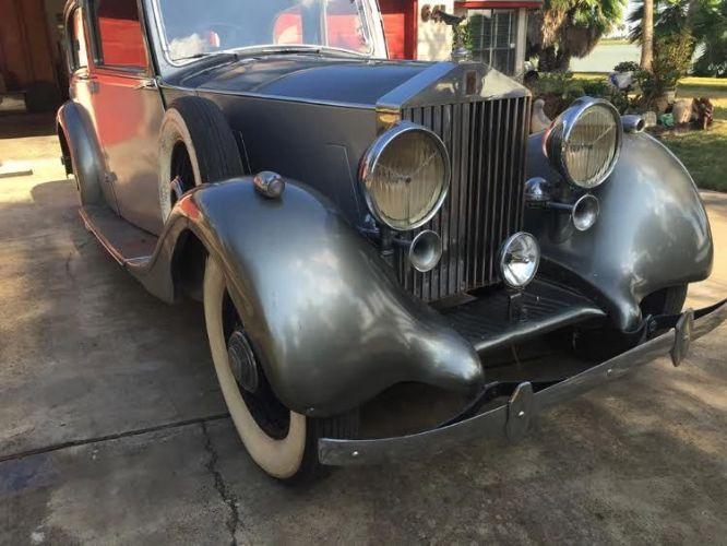 1937 Rolls Royce 25/30 Park Ward 9