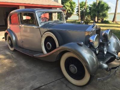 1937 Rolls Royce 25/30 Park Ward