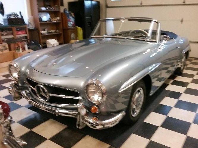 1960 Mercedes Benz 190SL 40