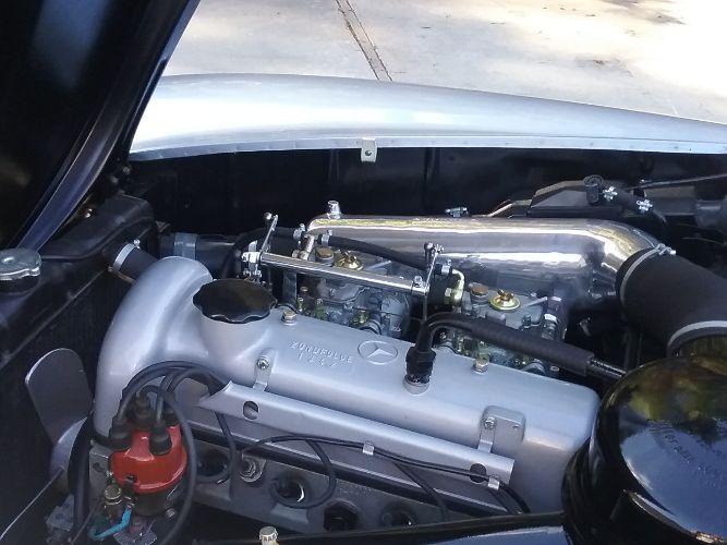 1960 Mercedes Benz 190SL 17