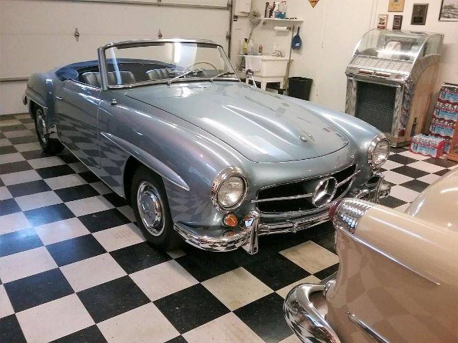 1960 Mercedes Benz 190SL 39