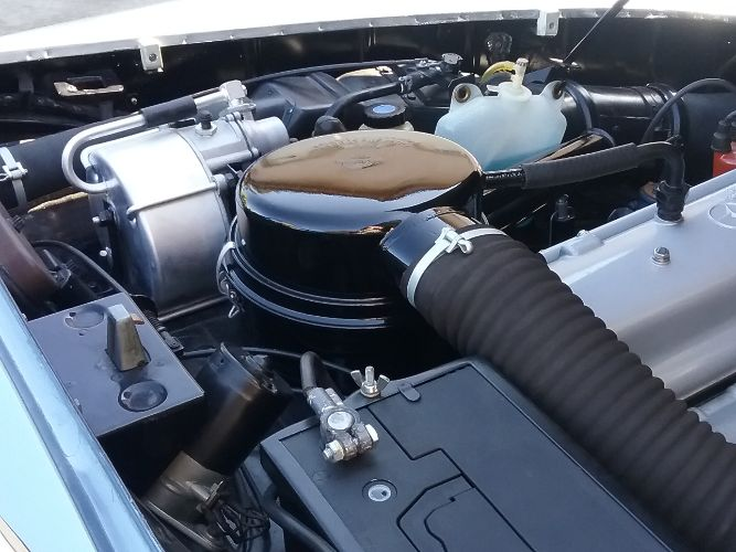 1960 Mercedes Benz 190SL 23