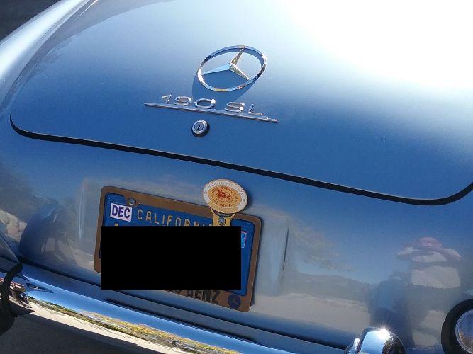1960 Mercedes Benz 190SL 5