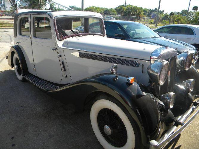 1937 Daimler Sedan