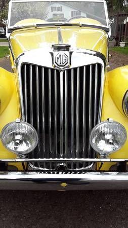 1954 MG TF 18