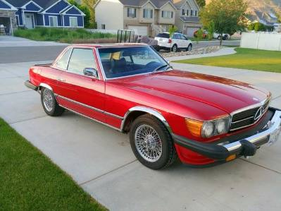 1975 Mercedes Benz 450 SL