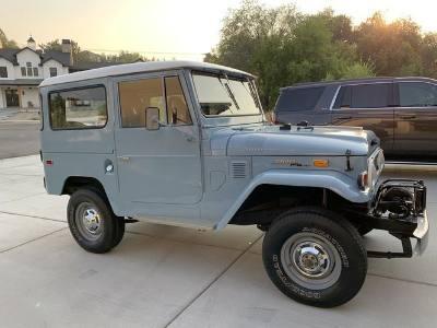1970 Toyota Land Cruiser Deluxe