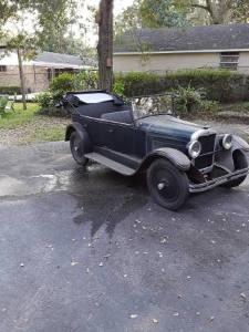 1926 Nash AJax Touring