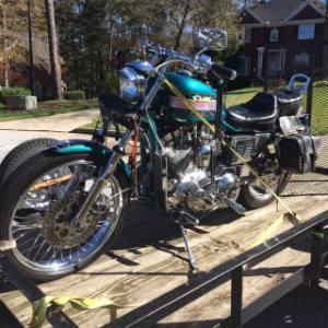 1987 Harley Davidson Sportster