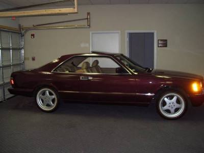 1988 Mercedes Benz 560SEC