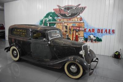 1934 Ford Delivery Panel Wagon