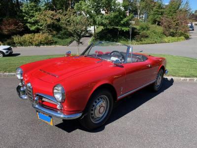 1965 Alfa Romeo Spider