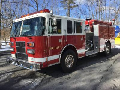 1995 Pierce Saber Fire Truck