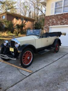 1922 Paige Model 6-66 Lakewood Touring Car