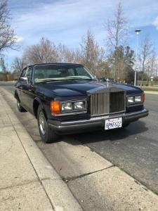 1983 Rolls Royce Silver Spirit Mulsanne