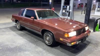 1987 Oldsmobile Cutlass Brougham