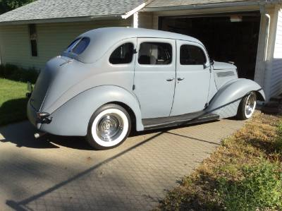 1938 Ford Trunk Back