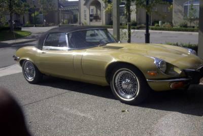 1974 Jaguar E-Type Roadster