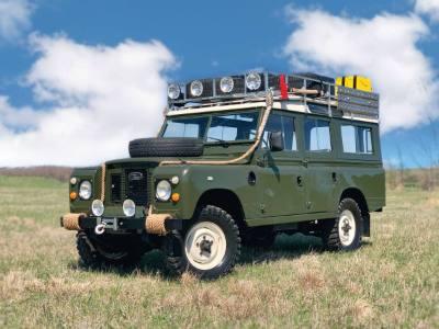 1971 Land Rover Defender IIA 109