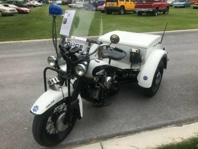 1966 Harley Davidson Trike Police Special