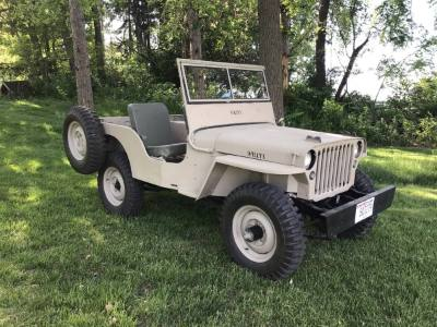 1946 Willys Jeep CJ2A