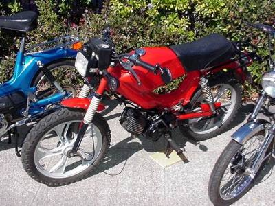 1980 Tomos Special Moped