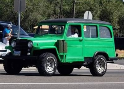 1951 Willys Jeep Wagon