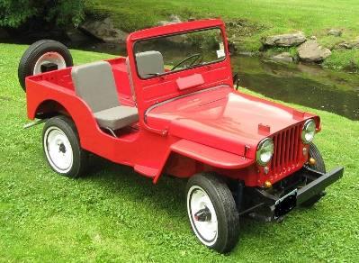 1951 Jeep CJ3A