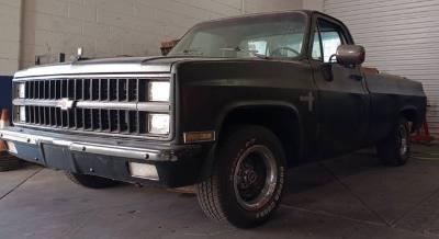 1982 Chevrolet C-series