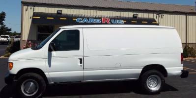 2002 Ford Econoline Cargo Van E250
