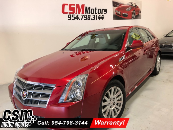 2010 Cadillac CTS Wagon Luxury