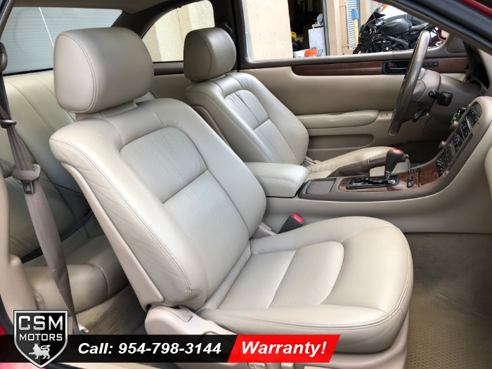 1999 Lexus SC Base Coupe 2-Door: Coupe RWD Automatic
