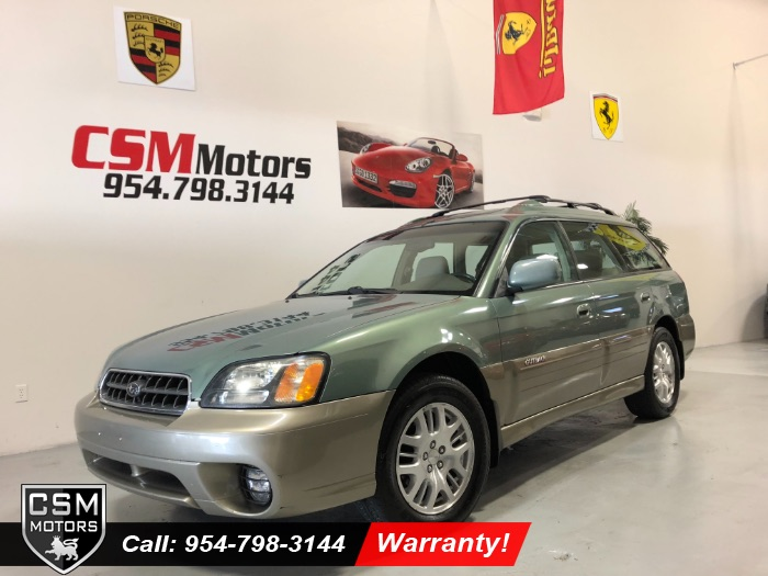 2004 Subaru Legacy Wagon (Natl) Outback Ltd