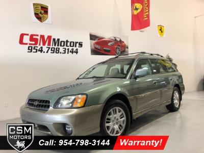 2004 Subaru Legacy Wagon (Natl) Outback Ltd