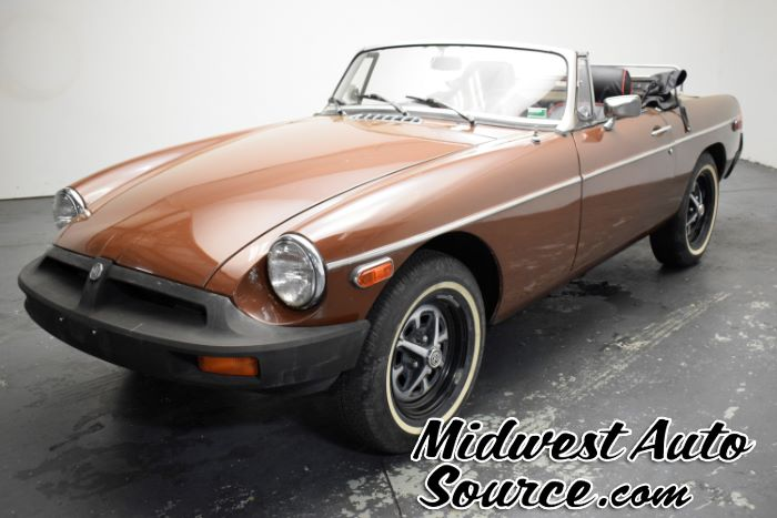 1979 MG MGB Convertible