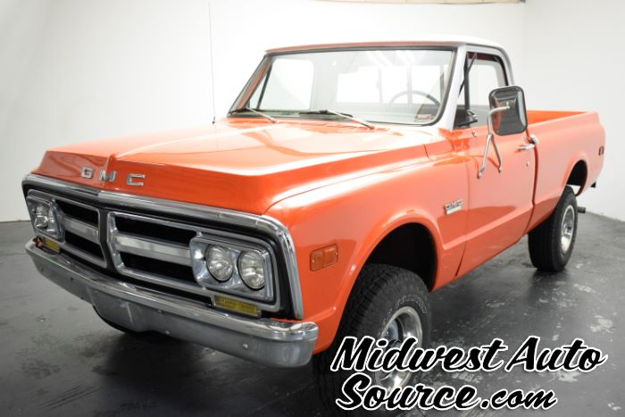 1972 GMC SHORT BED REGULAR CAB 4X4