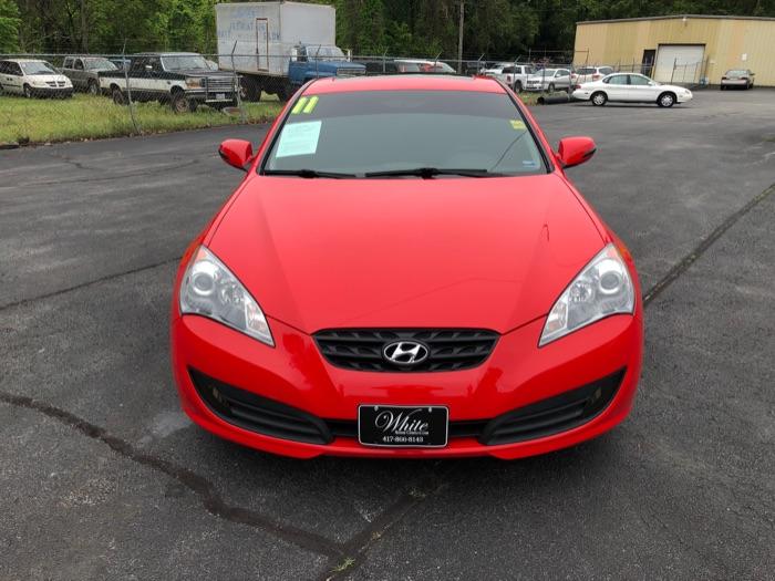 2011 Hyundai Genesis Coupe Track
