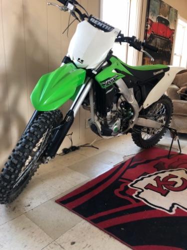 2015 Kawasaki kx250f f